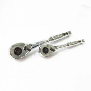 Kobalt Pair Of Ratcheting Wrenches 337308 337307