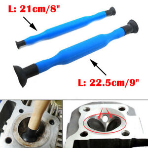 2pcs Valve Lapping Grinding Sticks Set Valve Lapper Tool With Suction Cups Kit