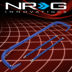 Nrg Hbr 003bl 50 5 aluminum 4 point Safety Seat Belt Harness Bar Kit Replacement