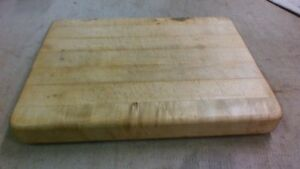 Vintage Counter Top Chop Block Cheese Board Cutting Nice