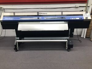 Roland Xc 540 Soljet Pro Iii Large Format Printer Works Great