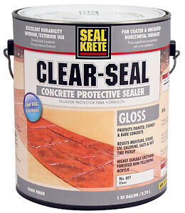 Rust oleum Concrete Protective Sealer Gloss 1 gal 607001