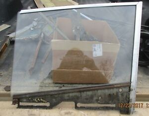 1957 1958 1959 Plymouth Dodge Desoto Chrysler 4dr Ht Drivers Door Glass 57 58 59