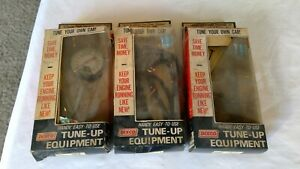 Vtg Dixco Tune Up Equipment Lot Of 3 Compression Vacuum Timing Test W Boxes