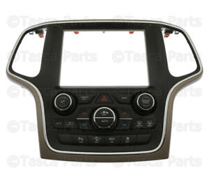 Brand New Oem Mopar Dashboard Center Stack 2014 Jeep Grand Cherokee 5091842af