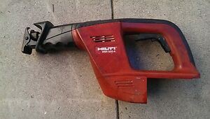 Hilti Wsr 650 a Driver Only 24volt Reciprocating Saw Sawzall