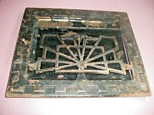 Heat Air Grate Wall Register 10 X 12 Wall Opening Vintage Works Art Deco