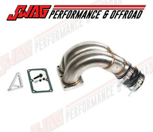 3 5 Stainless Steel Intake Manifold Elbow W Gates Boot For 07 5 12 6 7 Cummins