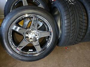 4 Ford Mustang Cobra R 17 Inch Rims Wheels W 245 45 Zr17 Nitto Extreme Tires