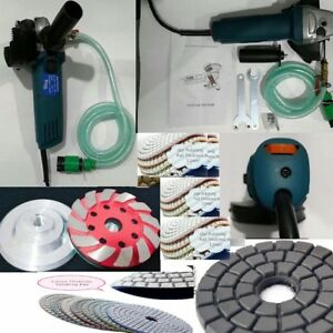 Variable Speed Stone Wet Polisher Grinder Polishing 10 1 Granite Concrete Marble