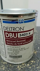 Ppg Deltron Dbu 5402 K Gm Red Tint Coat Metallic Wa379e Pint