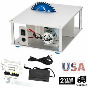 Mini Electric Bench Table Saw Blade Woodworking Cutter Polishing Carving Machine