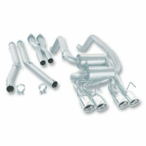 Open Box Borla Exhaust System Chevy Chevrolet Corvette 2005 2008
