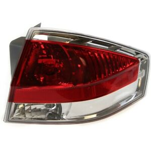 Tail Light For 2008 Ford Focus Passenger Side
