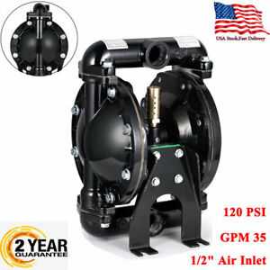 Double Diaphragm Pump Air operated 1inch Outlet Petroleum Fluids 1inch Inlet