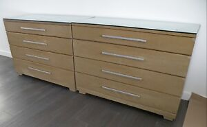 Hot Sale Pair Loewy For Mengel Mid Cen Modern 44 Dressers Chests Night Stand