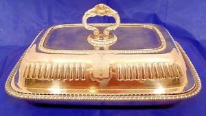 A George Iii Sterling Vegetable Dish And Cover London 1814