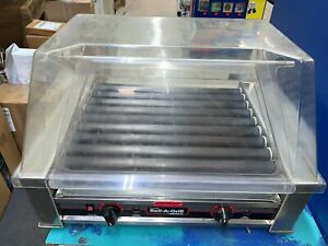 Nemco 8027 Hot Dog Roller Grill Fits 27 Hot Dogs With Cover
