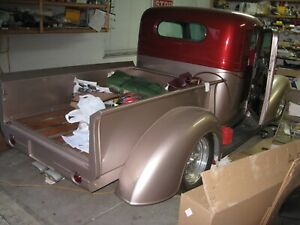 1937 1938 Gmc Chevy Bed Pockets Street Rod Hot Rat Project Vintage