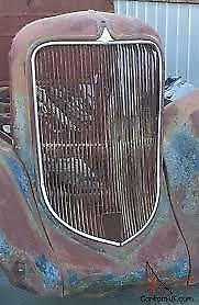 1934 Plymouth Grill Trim 1933 1935 Dodge Chrysler Desoto Project Parts Vintage