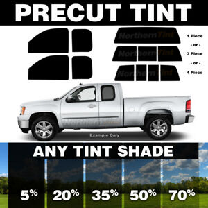 Precut Window Tint For Chevy 1500 Extended Cab 88 98 All Windows Any Shade