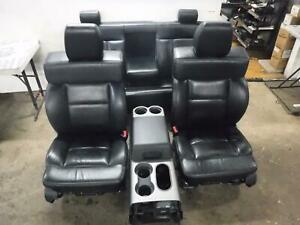 2004 2008 Ford F150 Fx4 Lariat Black Leather Power Seats Crew Cab Free Ship