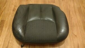 02 06 Chevy Avalanche Code 69 Leather Front Bottom Seat Passenger Right Oem