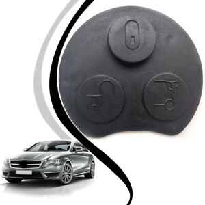 1x 3button Remote Key Shell Case Replacement Fob For Mercedes benz Smart Fortwo
