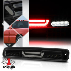 Black smoke 3d led Bar Third 3rd Brake cargo Light For 99 07 Silverado sierra