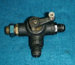 Kinsler Enderle Hilborn Fuel Injection Parts Shut Off Valve 3 Port Tank Return