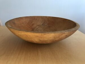 Granville Company Large Wooden Wood Serving Bowl 11 5 Made In Vermont