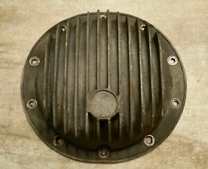 Vintage 10 Bolt Finned Aluminum Rear End Cover 8 2 8 5 Gm Chevy Muscle Car
