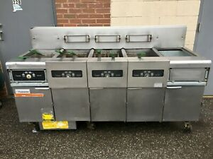 Frymaster Gas 5 Bay Deep Fryer Model Fmph455sc