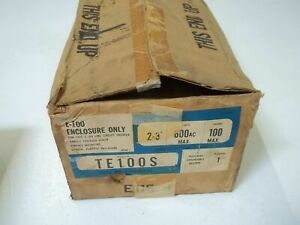 General Electric Te100s Enclosure Only new In Box