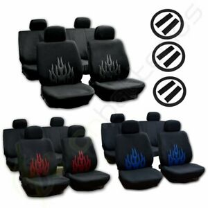 For 2002 2003 2004 2005 2006 Honda Civic Cr V Accord Car Seat Cover Black Blue