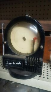 Temperature Chart Recorder Antique By Tempscribe