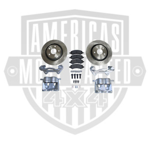 Jeep Jk Big Brake Kit front drilled And Slotted 2007 2018