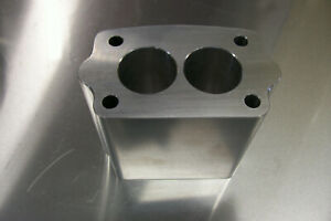 For Offenhauser Intake Tri Power Riser Rochester Small 2g Manifold Spacer 4 Inch
