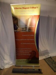Easyscreen Banner Stand Used Pop Up Display Exhibit Trade Show Bannerstand