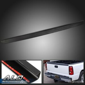 For 99 07 Chevy Silverado 1500 Gmc Sierra Sl Tailgate Top Cover Protector Black