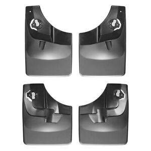 Weathertech 2015 2019 Ford F150 Heavy Duty Front Rear Mud Flaps Direct Fit