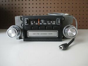 1978 84 Ford Am Fm Stereo 8 Track Radio For Ford Cars trucks