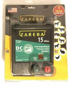 New Zareba Edc15m z 15 Mile Battery Operated Low Impedance Fence Charger