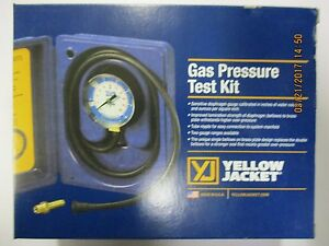 Yellow Jacket Gas Pressure Test Kit 78055