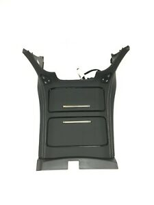 Gm Center Console Cup Holder Black Leather W Heated Cooled Seat Option New