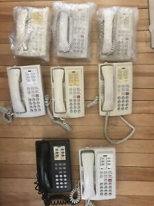 Used Lucent Partner 6 4 line Phone one Black 7 Off white