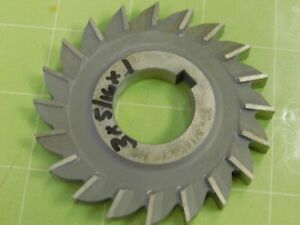 3 0 X 5 16 X 1 0 Hss Slitting Saw Slot Milling Cutter