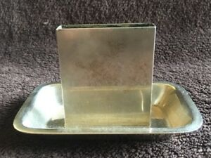 Vintage Sterling Silver Card Holder