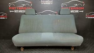 1992 Ford F150 Front Gray Cloth Bench Seat Regular Cab