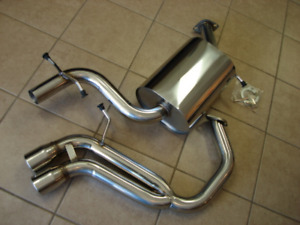 Top Speed Performance Exhaust System Fits 2006 2009 Vw Golf V Gti 2 0t